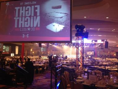 PSAV provided all rigging and video for one of Washington Hilton's favorite charity events of the year.